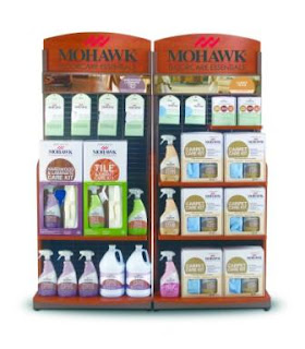 Mohawk FloorCare Essentials display