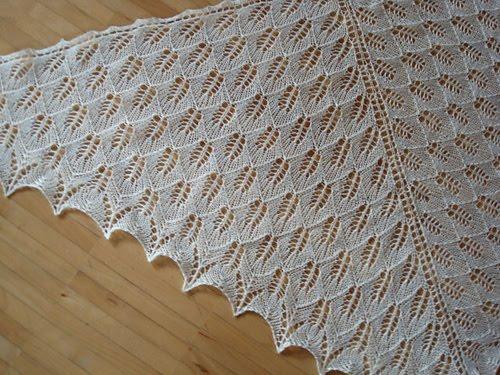 Вязание спицами · Шарфы, шали