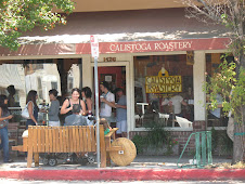 Calistoga gathering place-good coffee!