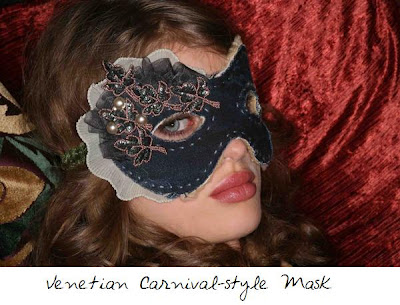 Venetian Carnival-style Mask