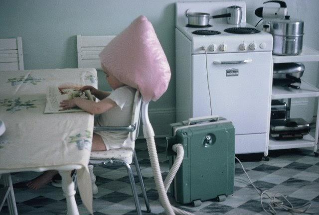 Bee In My Bonnet Vintage Monday Hair Dryer