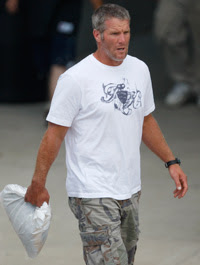 Brett Favre 2008 Training Camp