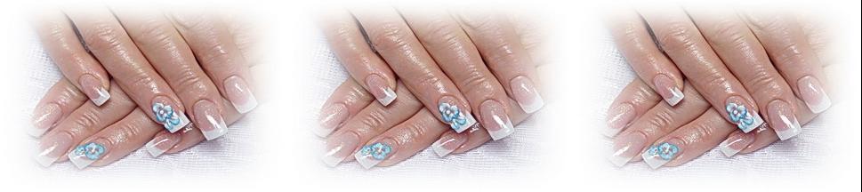 paznokcie zelowe akrylowe zdobienia artystyczne