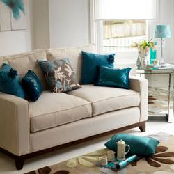 Teal Living Room Decorating Ideas - Cool Furniture