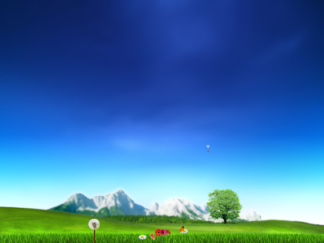 Nature wallpaper landscape blue sky