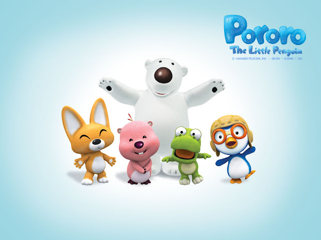 Cartoon wallpaper pororo the little penguin