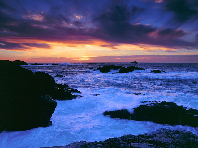 Carmel coast california Nature Wallpaper