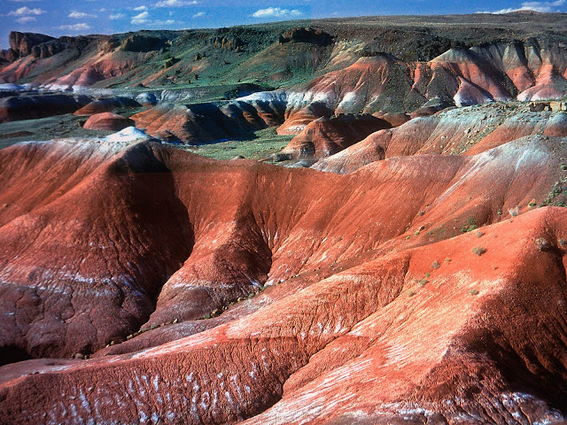 Painted desert arizona nature wallpaper
