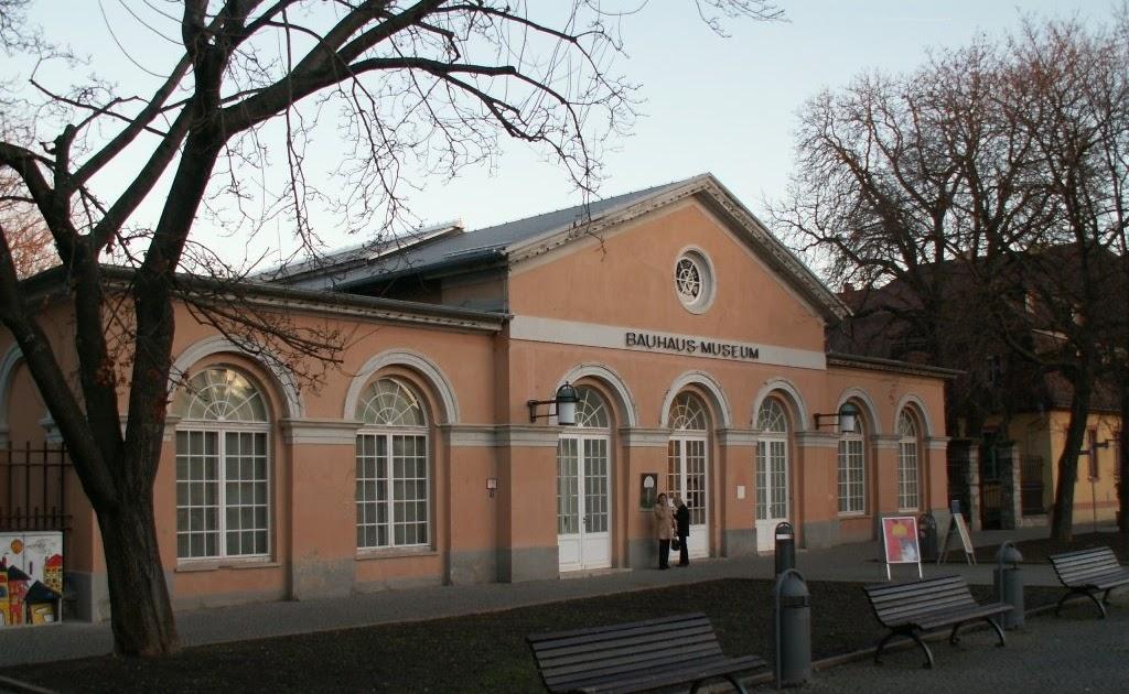 Resultado de imaxes para museo bauhaus weimar