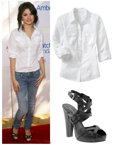 ستايلات المشاهير Selena+Gomez+style+1