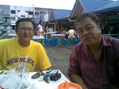 "Johnny Anak Chuat & blogger ""Dayak Nation"" Cobbold John"