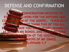 Defense and Confirmation