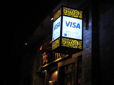 Use Visa here lantern