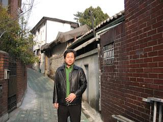 Mr Rhou in Insa-dong