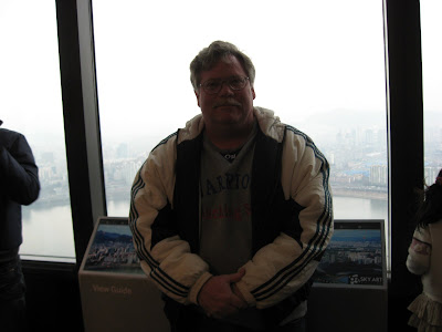 Me on 63 Building Observation Deck, 60th floor