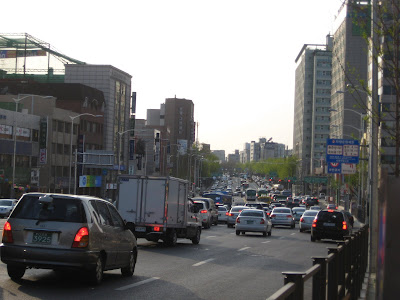 traffic in Deungcheon-dong