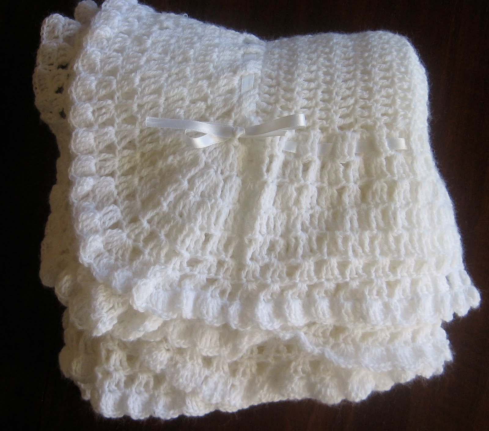 Antique Crochet Patterns : finally finished crocheting this babies blanket from a vintage pattern ...