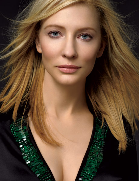 few long hairstyles for long and curly wavy hair: Cate Blanchett