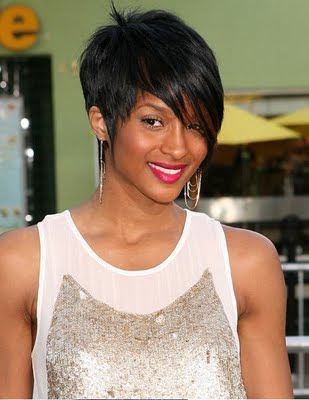 Short Black Haircuts on Short Trendy Hairstyle