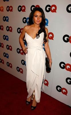 Lindsay Lohan Modern Long Hairstyles 2010