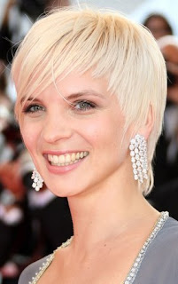 Modern Celebrity Short Blonde Haircuts for Women 2010