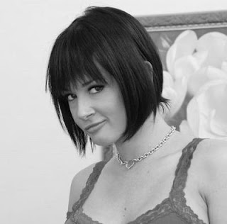 Modern Short Bob Hair Cut with Red Brunette Color 2010