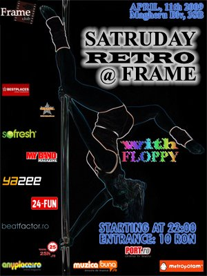 SATURDAY RETRO @ FRAME CLUB