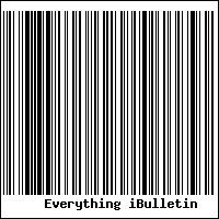 Everything iBulletin Barcode