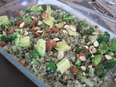 Double Broccoli Quinoa and Chickpea Cutlets