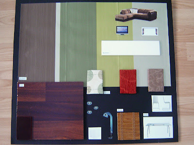 Tibs interior design mood sample boards for What is a sample board in interior design