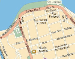 Plan d'accès 26 rue Jean Chatel ST DENIS CENTRE