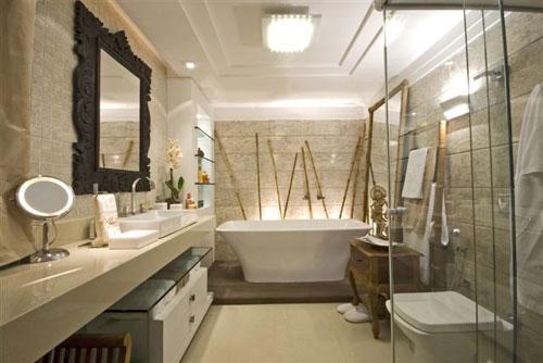 decoracao interiores banheiros pequenos : decoracao interiores banheiros pequenos:Esta espaçosa banheira de acrílico acomoda duas pessoas. Embutida