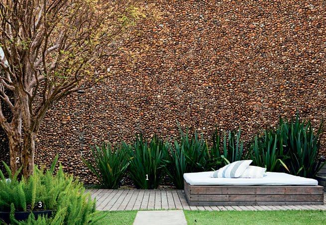 fotos de jardim externo:Lorena Cavalcanti: Pedras de efeito