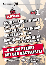 Astra Soul Night am 18.10.08 im Mascott