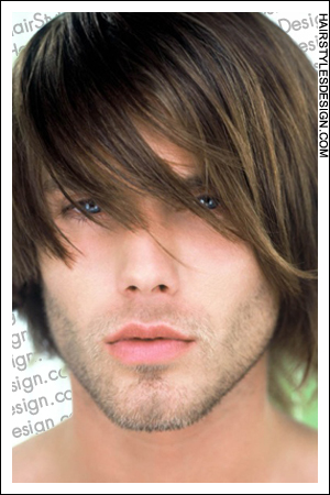 semi long hairstyles men
