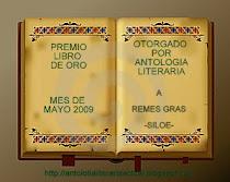 PREMIO LIBRO DE ORO MES DE MAYO