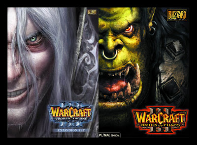 Wacraft III - Reign Of Chaos + Frozen Throne (Completo) Warcraft-3