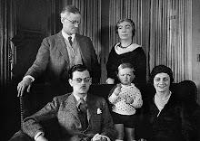 Joyce y su Familia 1934, París