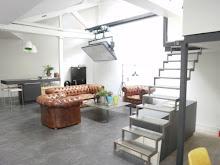 le nouveau bureau à Levallois