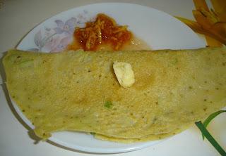 Dudhi (Bottle Gourd) Dosa