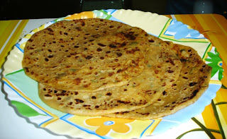 Dabeli Style Aalu Paratha
