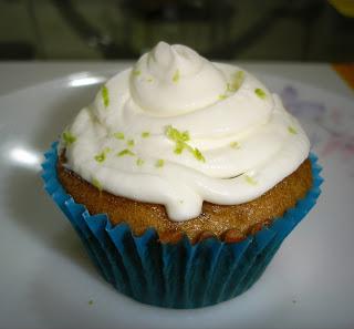 Lemon Date Cupcakes