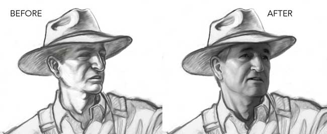 How To Capture A Likeness When Drawing Peoples Faces In ...