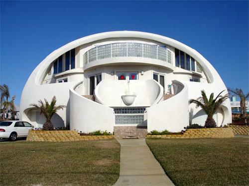 dome+house 7 Rumah Paling Unik di Dunia