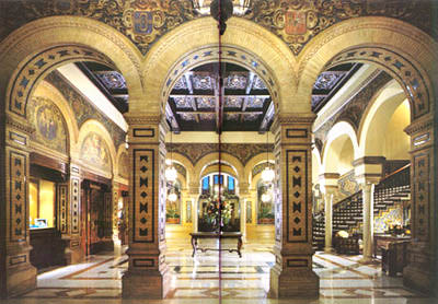 hotel alfonso 13 en sevilla: