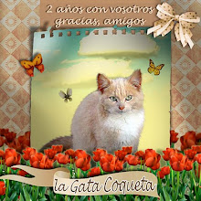 REGALO DE LA GATA COQUETA