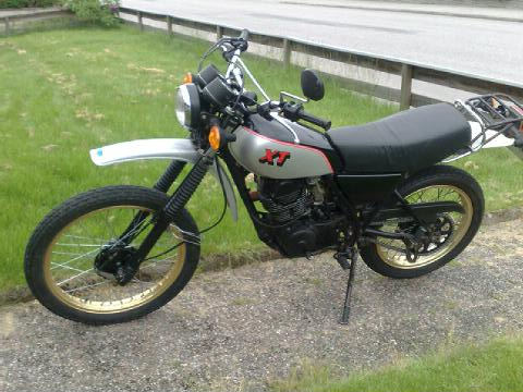 Yamaha XT 250 1981