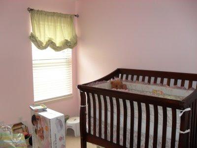 bebek odası perde çeşitleri