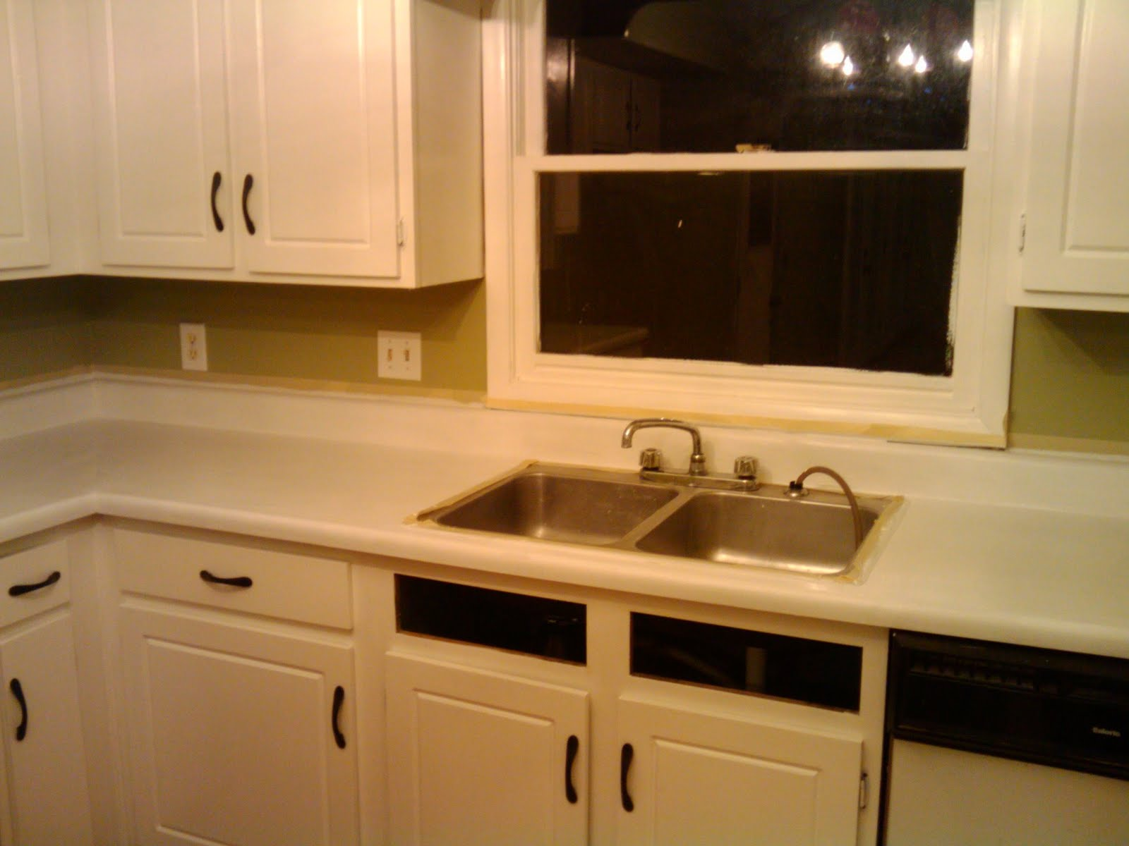 Painting Kitchen Countertops : recessed kitchen lights countertops painting sink recessed kitchen ...