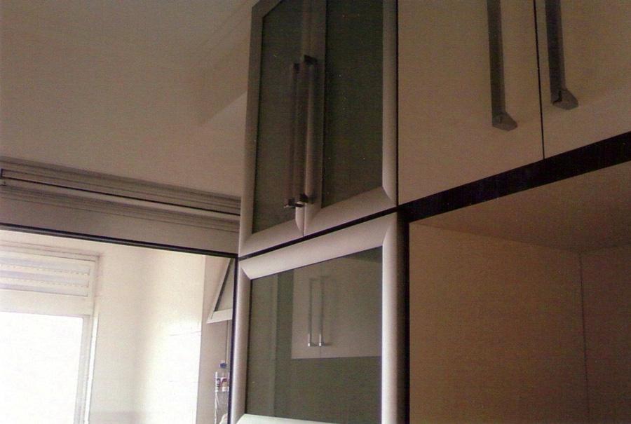 Marcenaria cozipark porta de arm rio em alum nio - Armario aluminio ...